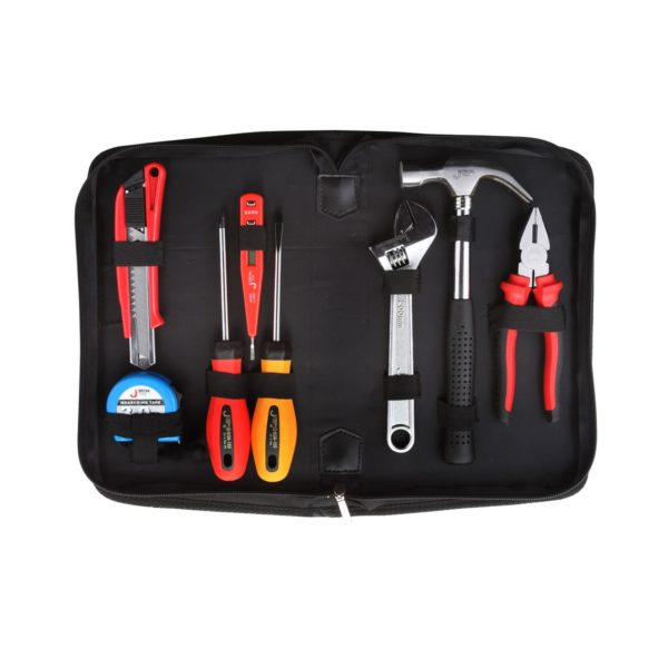 Jetech - 8 Pcs - Portable Tool Set In Pouch