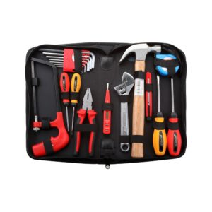 Jetech - 18 Pcs - Electric Tool Set In Pouch